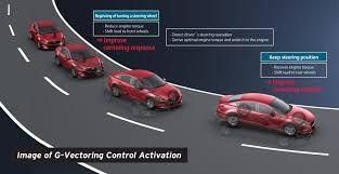 Mazda G-Vectoring technology