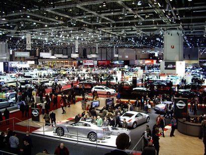 Canadian International Auto Show floor in 2015