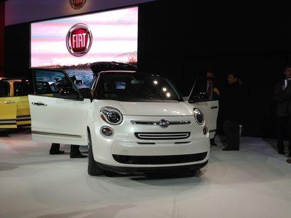 Fiat 500L at the 2012 LA Auto Show