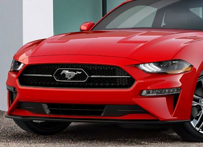 2018 Mustang Pony Package front fascia