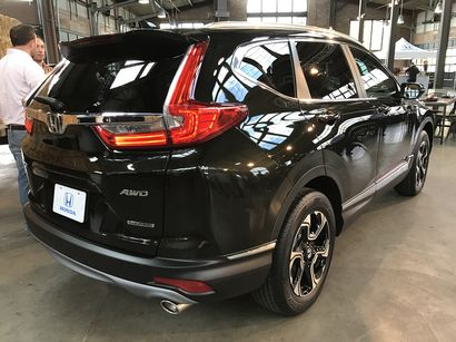 Lastest Honda Reveals 2017 CRV