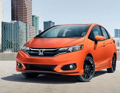 2018 Honda Fit Sport front 3/4 view
