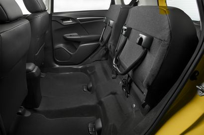 2018 Honda Fit rear seat detail