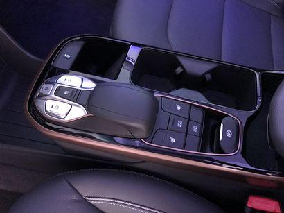 2017 Hyundai Ioniq Electric center console
