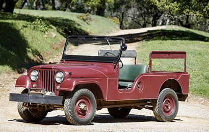 Reagan's 1962 CJ-6