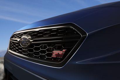 2018 Subaru WRX STI grille detail