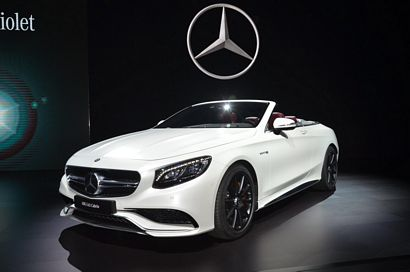 Mercedes-Benz AMG S63 Cabriolet