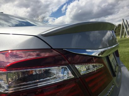 2016 Honda Accord Touring V6 rear spoiler detail