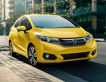 2018 Honda Fit EX front 3/4 view