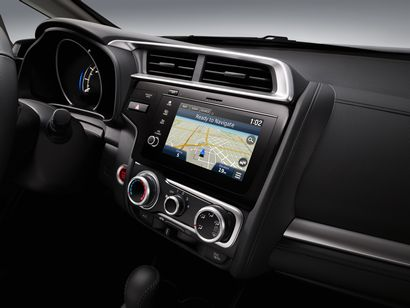 2018 Honda Fit EX-L dashboard detail