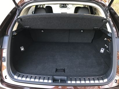 2016 Lexus NX 300h cargo area behind the second row