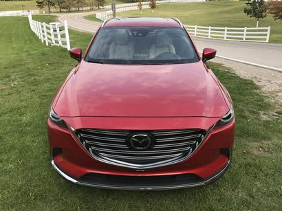 2016 Mazda CX-9 Grand Touring AWD front fascia