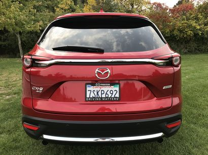 2016 Mazda CX-9 Grand Touring AWD rear fascia