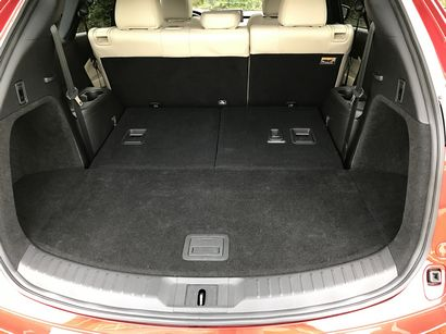 2016 Mazda CX-9 Grand Touring AWD storage with third row folded flat