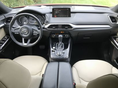 2016 Mazda CX-9 Grand Touring AWD dashboard layout