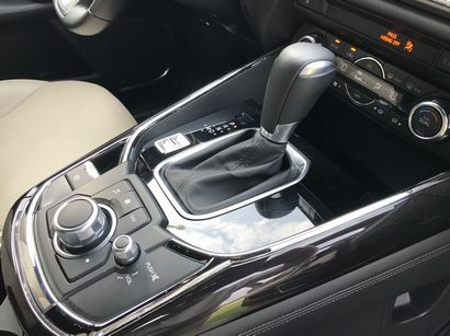 2016 Mazda CX-9 Grand Touring AWD shifter