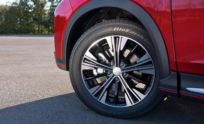 2018 Mitsubishi Eclipse Cross alloy wheel detail