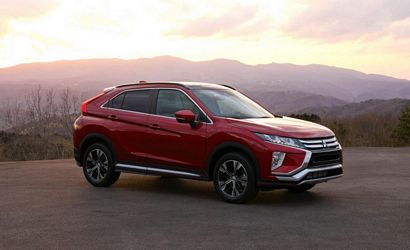 2018 Mitsubishi Eclipse Cross front 3/4 view