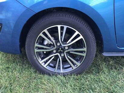 2017 Mitsubishi Mirage GT 15-inch alloy wheel