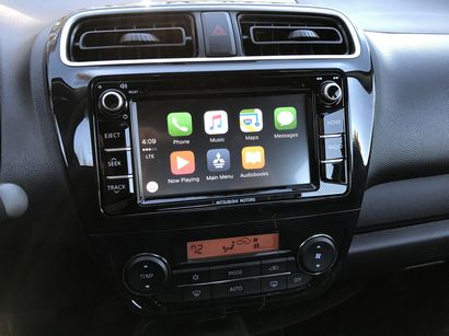 2017 Mitsubishi Mirage GT with Apple CarPlay