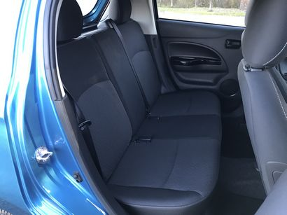 2017 Mitsubishi Mirage GT rear seat